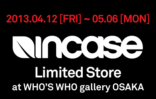 Incase Limited Store in Osaka
